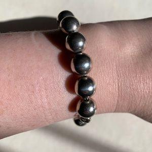 Tiffany HardWear Ball Bracelet in Silver